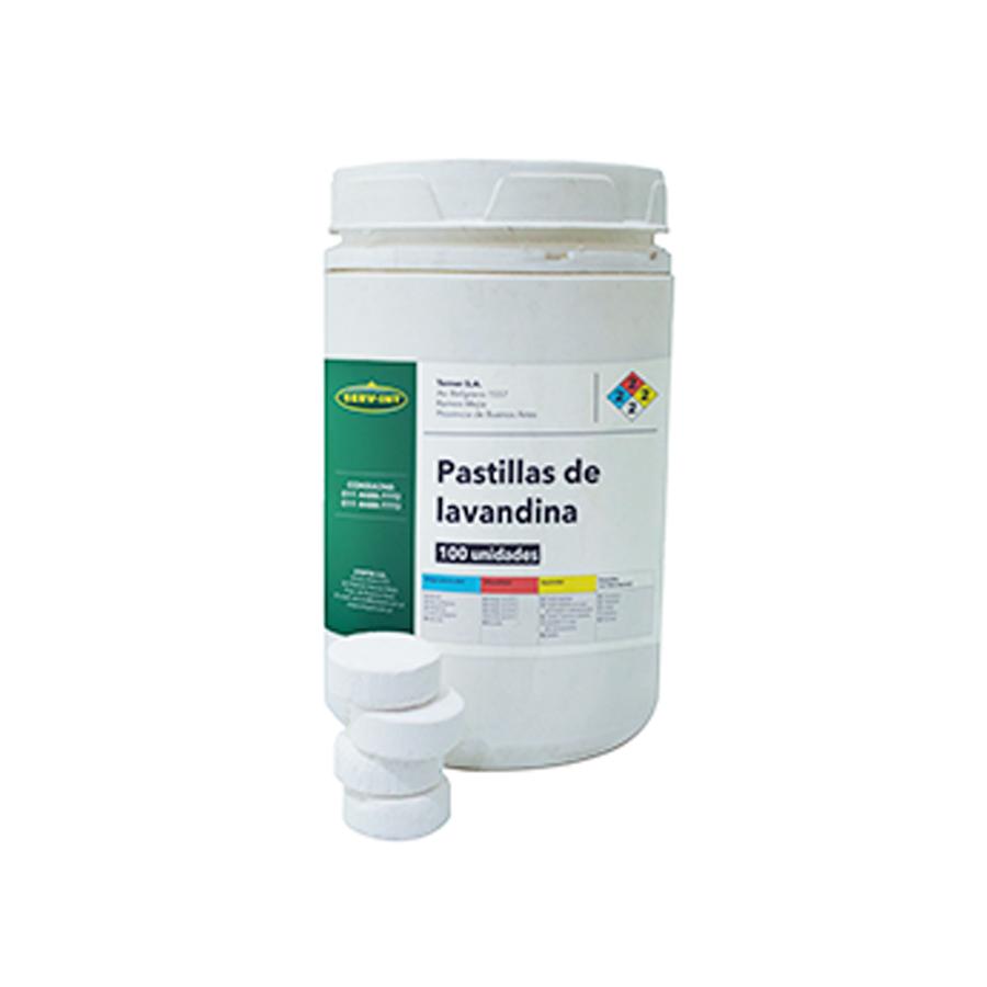 Lavandina en Pastillas // Serv-int